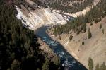 Yellowstone Fluss photographie